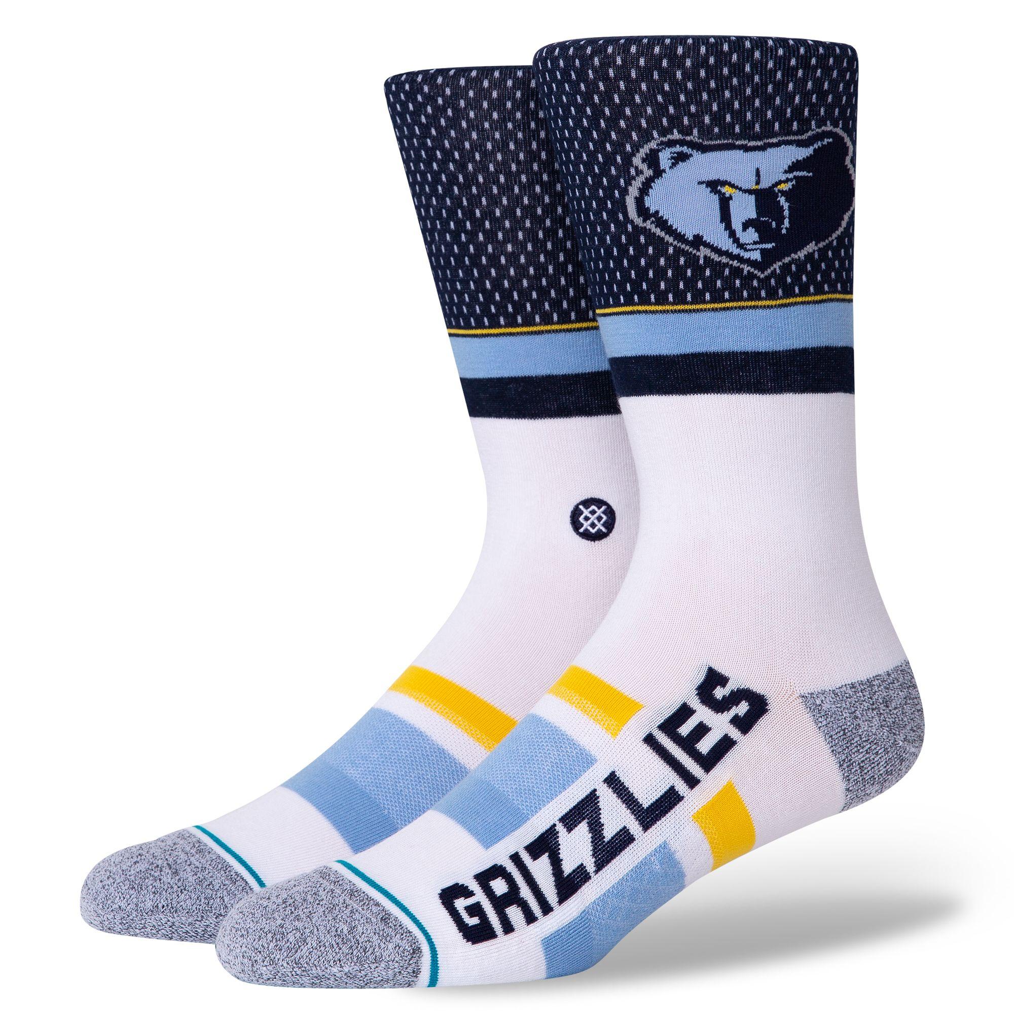 ギフト配送対応 NBA好きなあの人に プレゼントに最適なNBA公式ソック NBA STANCE グリズリーズ SHORTCUT 今だけスーパーセール限定 メンフィス 最新号掲載アイテム Memphis Grizzlies スタンス 靴下 2 メンズソックス
