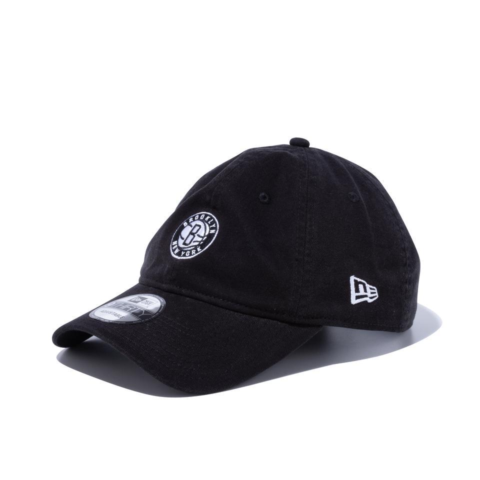 2021年秋冬新商品 NEW ERA 9Thirty ブルックリン ネッツ ユニセックス ニューエラキャップ 全国どこでも送料無料 ブラック Brooklyn Nets 買取
