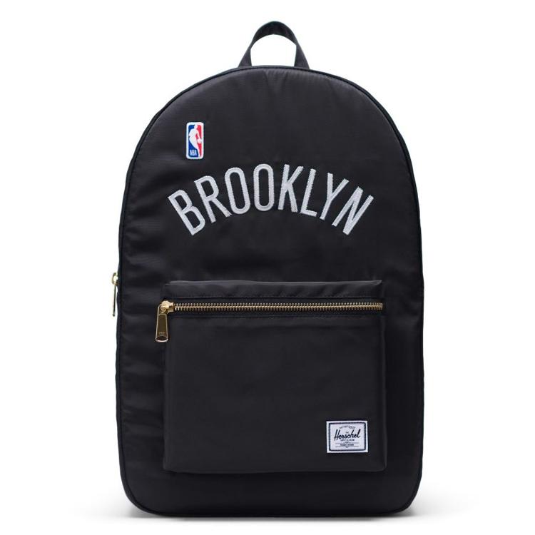 Herschel Supply(ハーシェルサプライ) NBA Champions ブルックリン・ネッツ Black/White セトルメントバックパック リュック / Settlement Backpack Brooklyn Nets