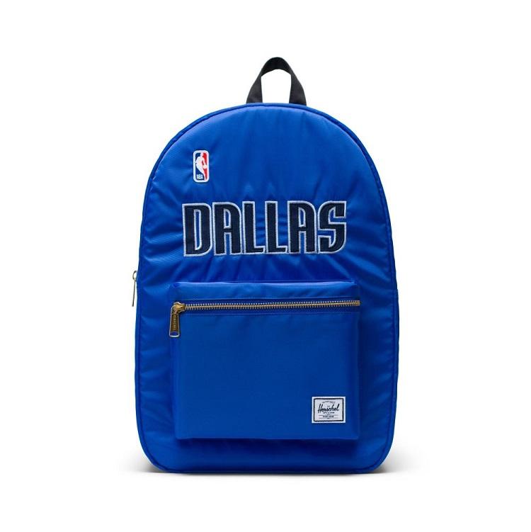Herschel Supply(ハーシェルサプライ) NBA Champions ダラス・マーベリックス Royal Blue/Black セトルメントバックパック リュック / Settlement Backpack Dallas Mervericks
