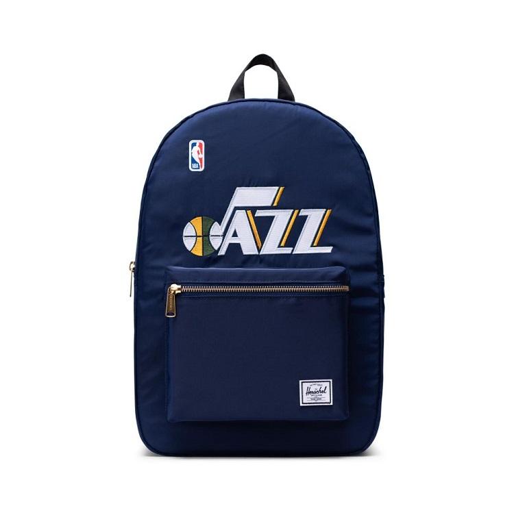 Herschel Supply(ハーシェルサプライ) NBA Champions ユタ・ジャズ Silver/Black セトルメントバックパック リュック / Settlement Backpack Utah Jazz