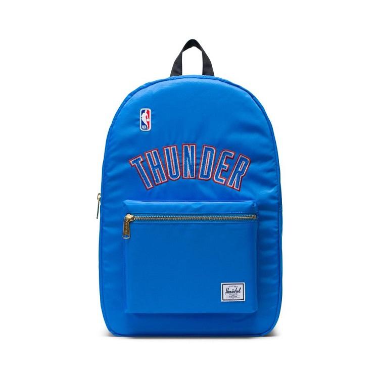Herschel Supply(ハーシェルサプライ) NBA Champions オクラホマシティ・サンダー Dark Blue/Black セトルメントバックパック リュック / Settlement Backpack Oklahoma City Thunder