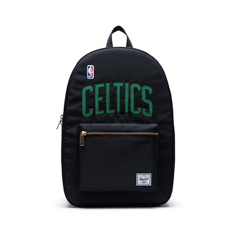 Herschel Supply(ハーシェルサプライ) NBA Champions ボストン・セルティックス Black/Green セトルメントバックパック リュック / Settlement Backpack Boston Celtics