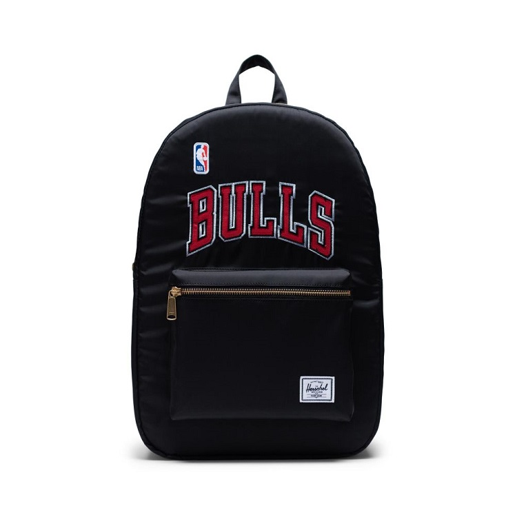 Herschel Supply(ハーシェルサプライ) NBA Champions シカゴ・ブルズ Black/White セトルメントバックパック リュック / Settlement Backpack Chicago Bulls