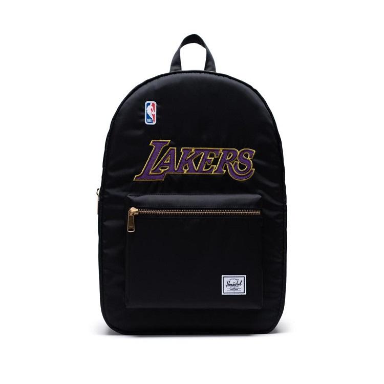 Herschel Supply(ハーシェルサプライ) NBA Champions ロサンゼルス・レイカーズ Black セトルメントバックパック リュック / Settlement Backpack Los Angeles Lakers