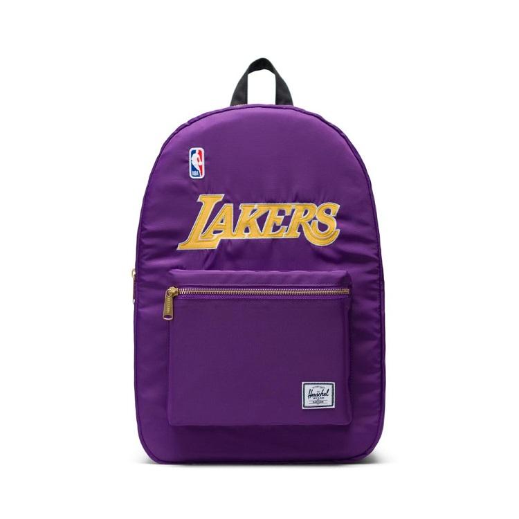 Herschel Supply(ハーシェルサプライ) NBA Champions ロサンゼルス・レイカーズ Purple/Yellow/Black セトルメントバックパック リュック / Settlement Backpack Los Angeles Lakers