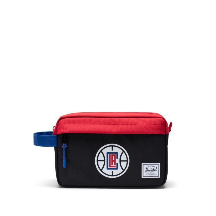 人気ブランドからNBAコレクションが登場 Herschel Supply ハーシェルサプライ Chapter Travel Kit 限定モデル ロサンゼルス NBA Angeles クリッパーズ fan 新着 Clippers Super Los バスケットボール