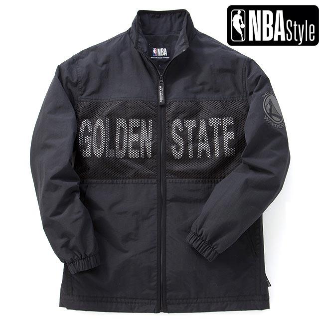 【NBA Style】 Golden State Warriors チームナイロンブルゾン ユニセックス / ゴールデンステート・ウォリアーズ