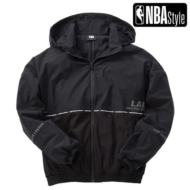 【NBA Style】 Los Angeles Lakers ジップアップ ジャケット ユニセックス / ロサンゼルス・レイカーズ