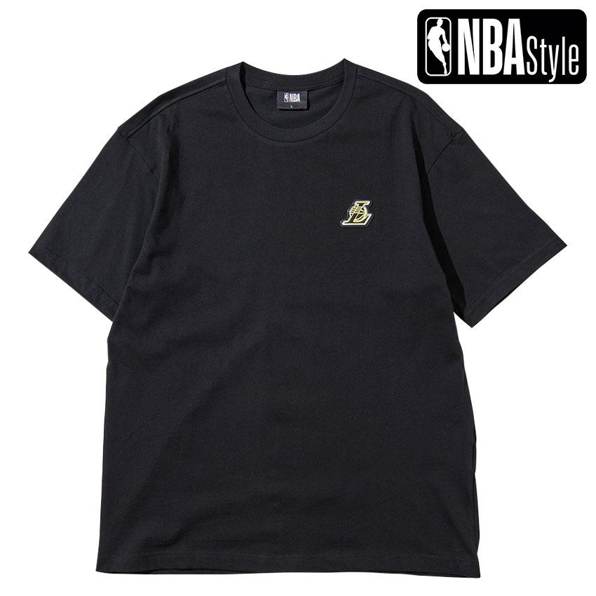限定 超特価 NBA公式ライフスタイルアパレル NBA Style 2021 SS Angeles Lakers ルーズフィットTシャツ カラフルアートワーク 日本正規代理店品 Los