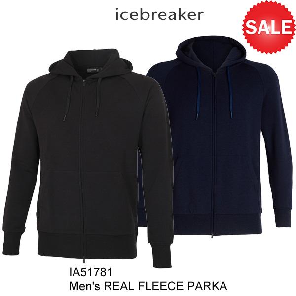 icebreaker(アイスブレーカー) M Real Fleece Parka (リアルフリースパーカ) 2018-19モデル