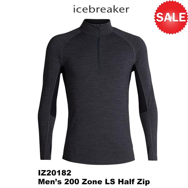 icebreaker(アイスブレーカー) M 200 Zone LS Half Zip (200ゾーン LS ハーフ ジップ) 2019秋冬モデル