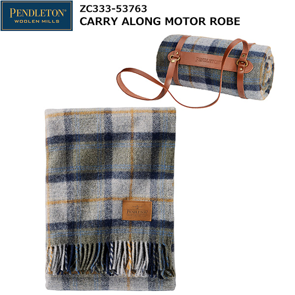 PENDLETON(ペンドルトン) Carry Along Motor Robe ZC333-53763 (Mosier Plaid)