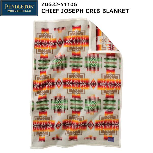 PENDLETON(ペンドルトン) Chief Joseph Crib Blanket ZD632-51106 (アイボリー)