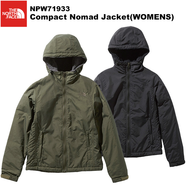 THE NORTH FACE(ノースフェイス) Compact Nomad Jacket(WOMENS)(コンパクトノマドジャケット) NPW71933