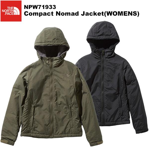 女性モデル THE NORTH FACE ノースフェイス Compact WOMENS NPW71933 市販 コンパクトノマドジャケット Jacket Nomad 激安☆超特価