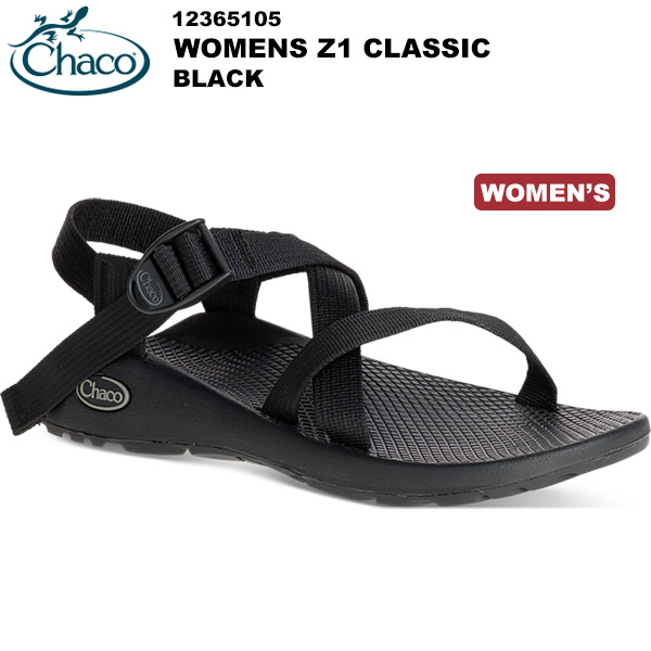 Chaco(チャコ) Z/1 クラシック Women's (Black) 12365105