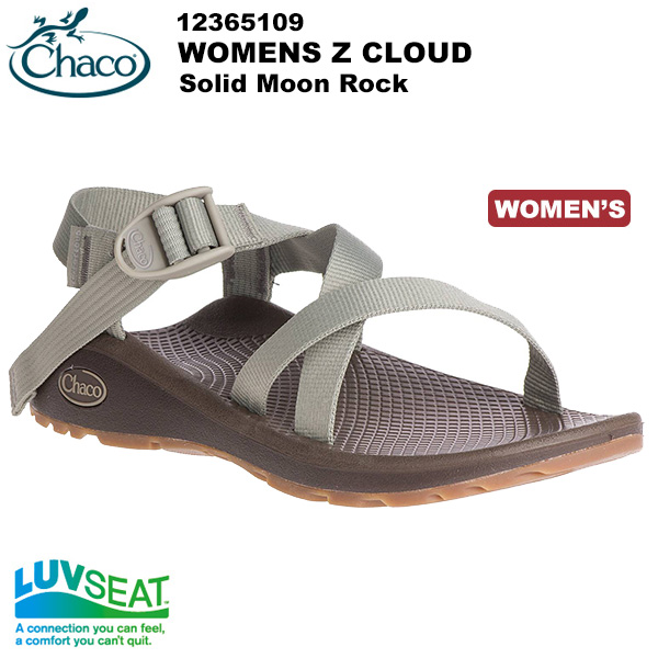 Chaco(チャコ) Z クラウド Women's (Solid Moon Rock) 12365109