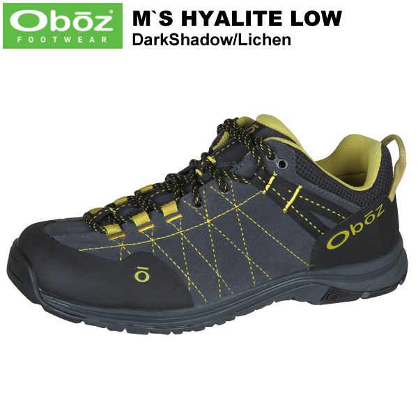 Oboz(オボズ) Men's Hyalite Low (ハイアライトロー) Dark Shadow/Lichen