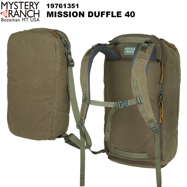 MYSTERY RANCH(ミステリーランチ) MISSION DUFFLE 40L(ミッションダッフル40L) 19761351