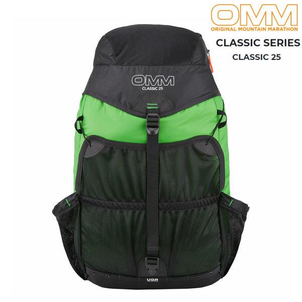 【セール】 OMM クラシック25グリーントレイルランニング ザック バックパック ファストパッキング 25L 登山 レース