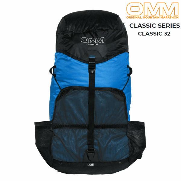 【セール】 OMMクラシック32ブルートレイルランニング ザック バックパック ファストパッキング 32L 登山 レース