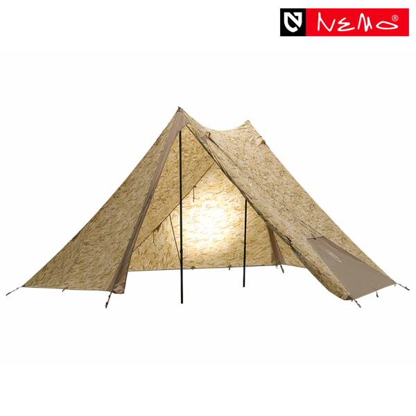 ニーモ ヘキサライトSE 6P マルチカムアリッド テント タープ 大型 カモフラ