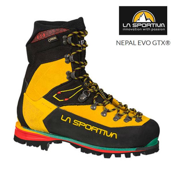 スポルティバ ネパール エボ GTXイエローゴアテックス トレッキングシューズ 登山靴 冬靴 厳冬期 レザー