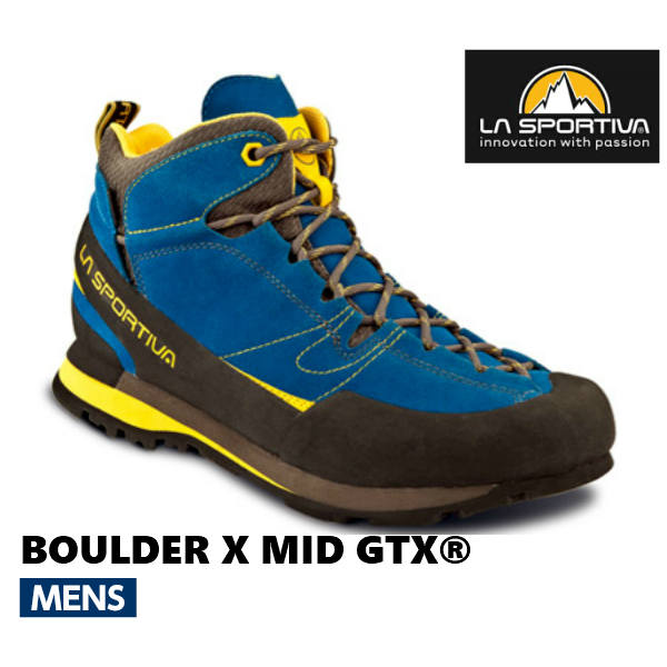 スポルティバ ボルダーX ミッド GTX®登山 登山靴 トレッキング