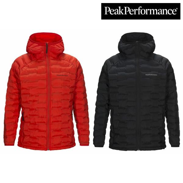 【セール】ピークパフォーマンス アルゴンライフードジャケット MENS インサレーション 化繊綿 アウター スノー スキー スノボ トレッキング 雪山 冬山
