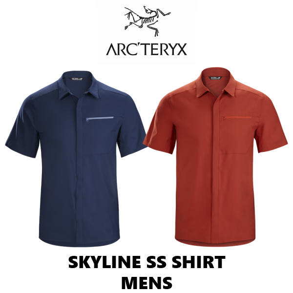 アークテリクス スカイライン SS シャツ メンズ シャツ 半袖 ショートスリーブ