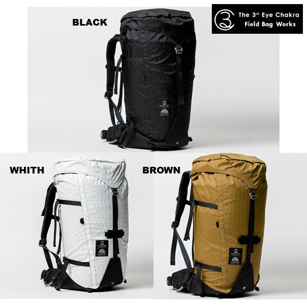 サードアイチャクラ The Backpack#002 50L+ サードアイ バックパック 50L X-PAC ウルトラライト UL 軽量