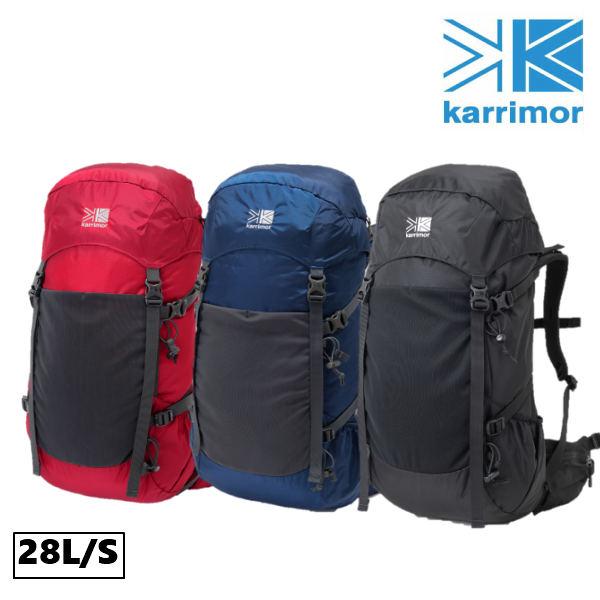 カリマー ランクス28 スモール リュック バッグ トレッキング ハイキング フェス キャンプ レインカバー付き 女性向け