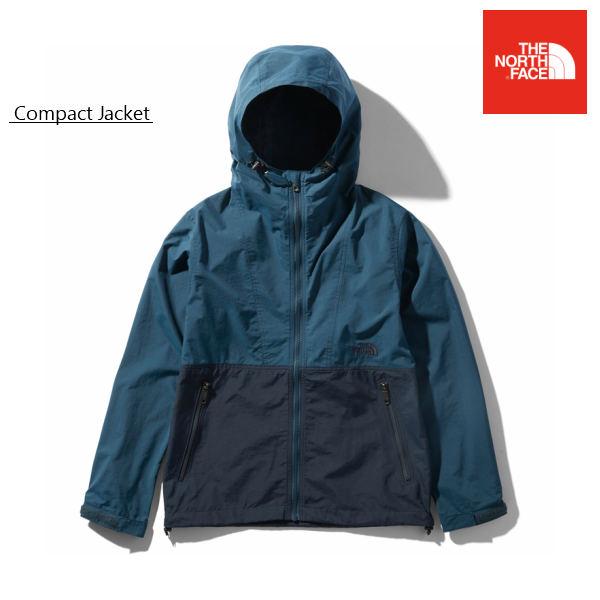 ノースフェイスコンパクトジャケット レディース BUカラー ジャケット シェルジャケット キャンプ 旅行 登山 軽量 女性用