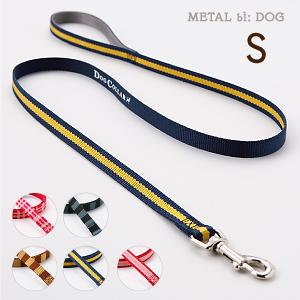 小型犬用リード メタルビードッグ カジュアルリード ペット用品 犬用リード 引き紐 犬 リード かわいい 小型犬用 テープ素材 かっこいい 購買 贈物 ギフト包装可ラロック 引きひも 送料無料 Sサイズ メール便のみ