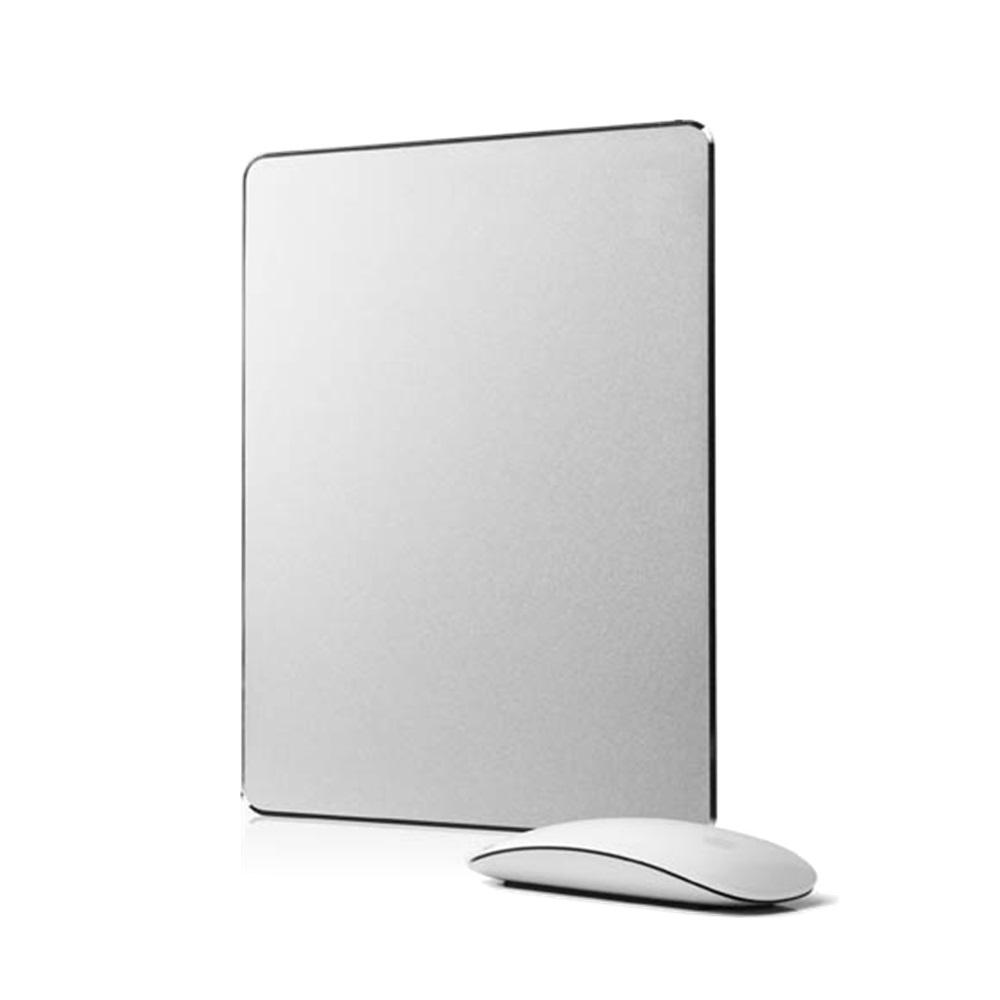 シンプル!おしゃれ!iMacやMacbookにぴったりなアルミ製マウスパッド 小型 アルミ オシャレ スタイリッシュ 北欧 安 小さい プレゼント steel LOE アルミニウム マウスパッド Aluminum Mouse Pad光学式マウス 対応 (Small)