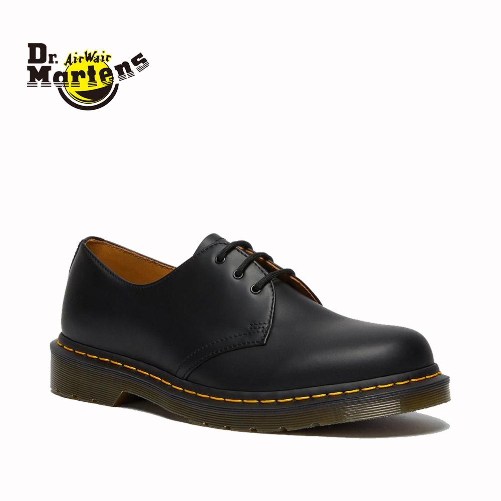 送料無料 正規品 Dr.Martens ドクターマーチン 3EYE 期間限定送料無料 SHOE 1461 3ホール シューズ ブラック 紳士靴 メンズ レディース 21 カジュアル 美品 27 5 11837002 ビジネス 革靴