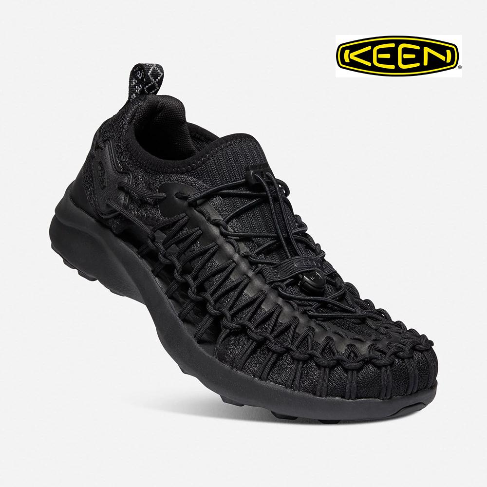 送料無料 正規品 KEEN キーン UNEEK ついに入荷 SNK BLACK 商品 1022377 ユニーク スニーク ブラック 黒 Open Air キャンプ シューズ スニーカー サンダル Sneaker 川 海 カジュアル アウトドア 靴 メンズ