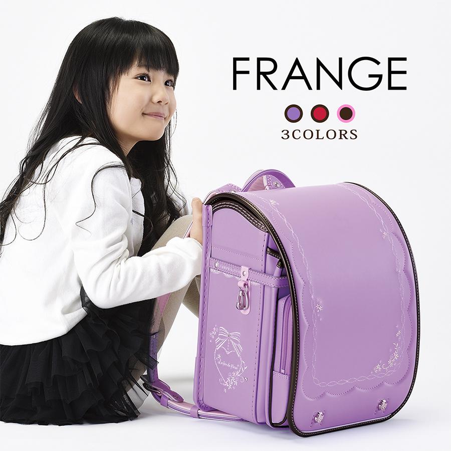 ランドセル 2019モデル 「Frange-フランジュ- FG692」 フィットちゃん(R) 女の子 A4フラットファイル対応 【茶色(ブラウン チョコ)/ピンク/チェリー(赤 ピンク)/重量 約1,190g】