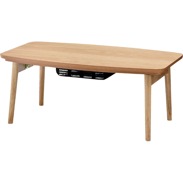 デザインテーブル ヒーター付 幅90 エルフィ オーク オールシーズン ナチュラル おしゃれ こたつ テーブル こたつ インテリア センターテーブル 北欧 シンプル オールシーズン 一年中 ローテーブル 木製 ウッド テーブル 東谷 azumaya