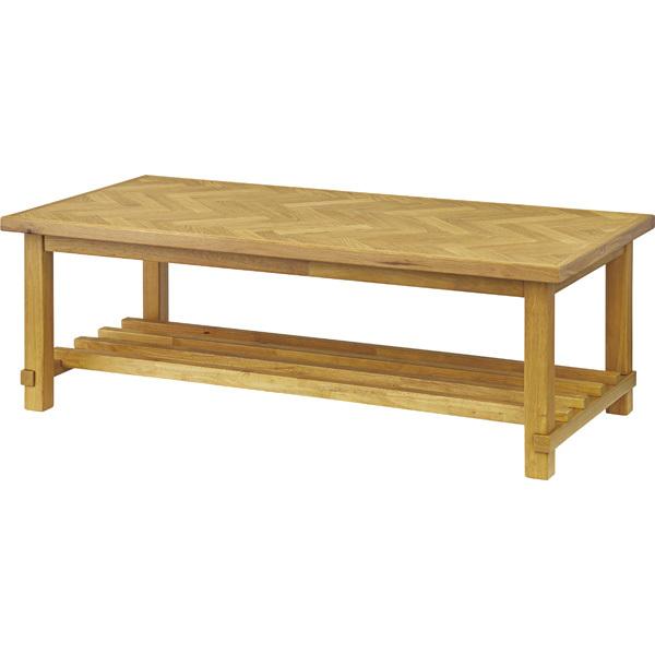 センターテーブル クーパス VET-735 オーク ライトブラウン コーヒーテーブル 机 テーブル デスク 食卓 パーソナルデスク テーブル 北欧 スタイリッシュ 西海岸 ヴィンテージ レトロ インテリア 家具 おしゃれ 東谷 azumaya