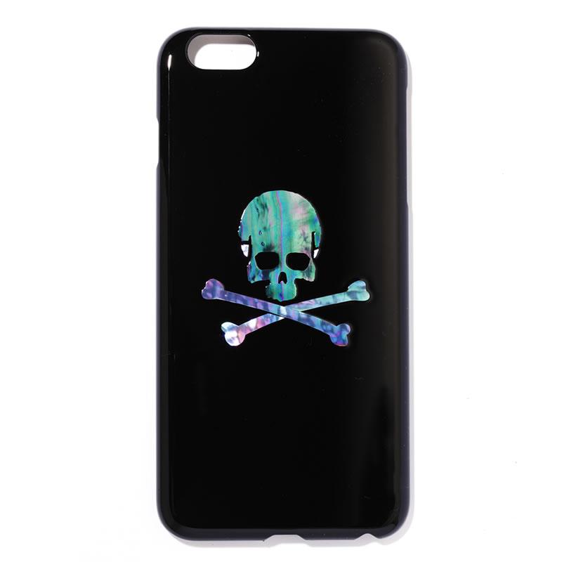 iPhone6 ケース iPhone6Plus 高岡漆器 スカル スマホケース iPhoneカバー ドクロ iPhone6プラス スマートフォンケース キラキラ スマホ ケース おしゃれ スマホ ケース かわいい スマホ アクセサリー スマートホンケース 送料無料