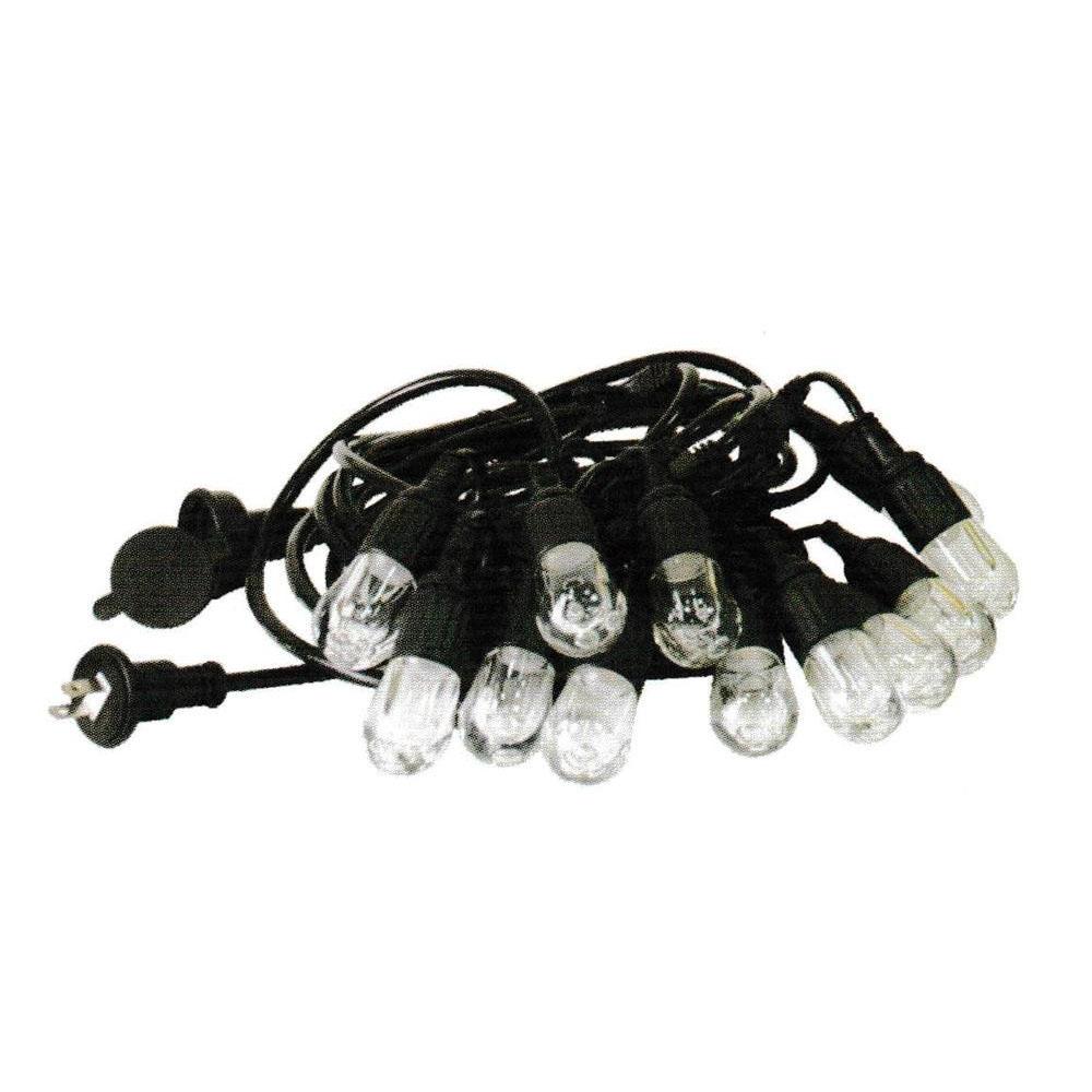 防水・防塵 LEDガーデンストリングライト 12電球 715cm