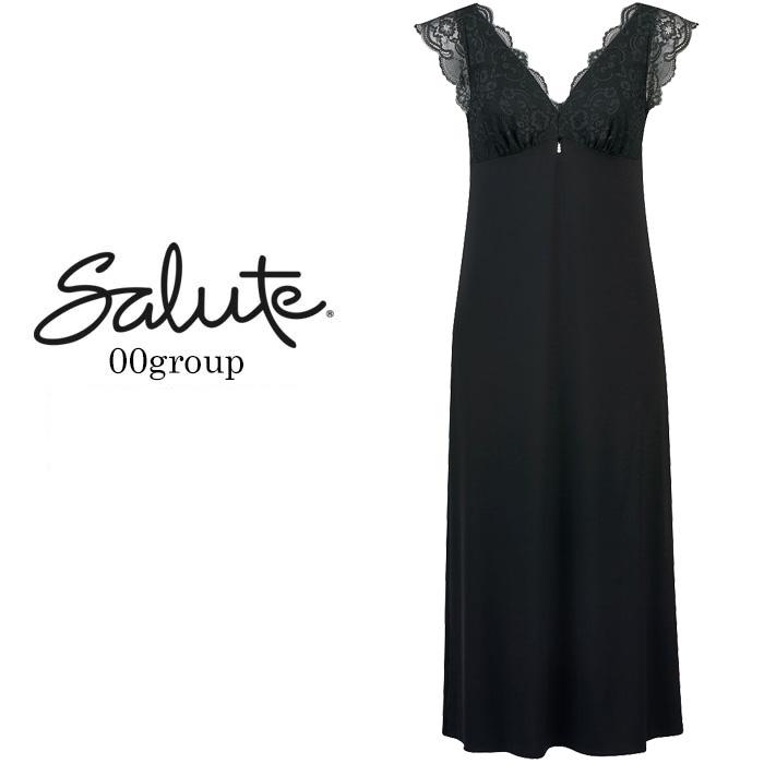 ワコール Wacoal サルート 00グループ ナイトドレス ルームウェアNTJ500(Mサイズ Lサイズ) 【smtb-K】{01}[-0-]《送料無料》