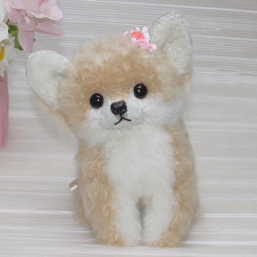 チワワ ぬいぐるみ ギフト プレゼント イヌ 毛皮ラム 誕生日 プレゼント品 ぬいぐるみ犬 猫 くまぬいぐるみ