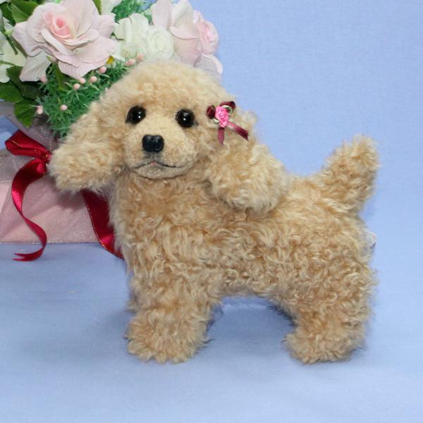 コッカースパニエル ファークラフト社製 ぬいぐるみ 56年の実績 作家手作り品 オリジナル品 毛皮 ギフト イヌ