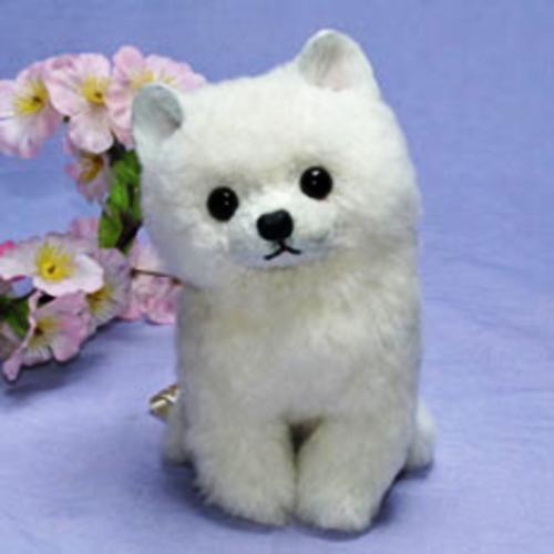 白子犬 ぬいぐるみ ギフト プレゼント 毛皮 ラム クリスマスギフト ぬいぐるみイヌ 猫 クマぬいぐるみ 癒しグッズ