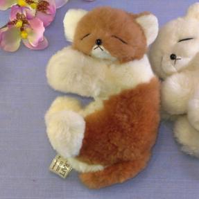 ネムリ子ネコ ファークラフト社製 ぬいぐるみ ネコ ギフト 毛皮 ハンドメード クリスマスギフト プレゼント品