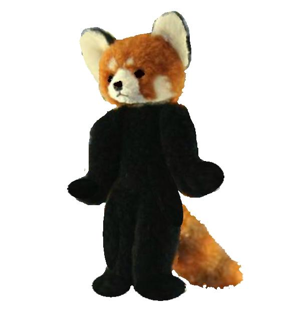 Ranran Red Panda Panda Stuffed Animal Appeared In Television