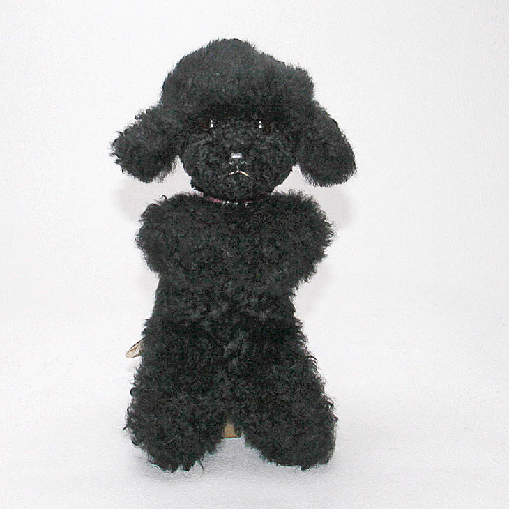 Teacup poodle and plush poodle / dog / Poodle (purple)-dakimakura plush